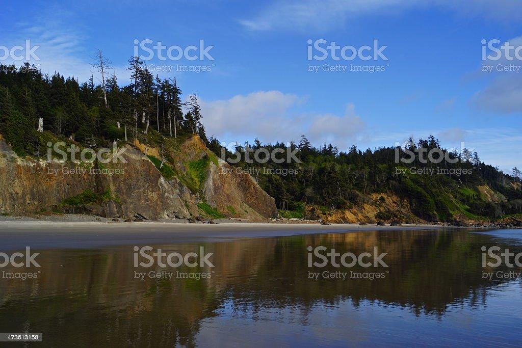Indian Beach stock photo