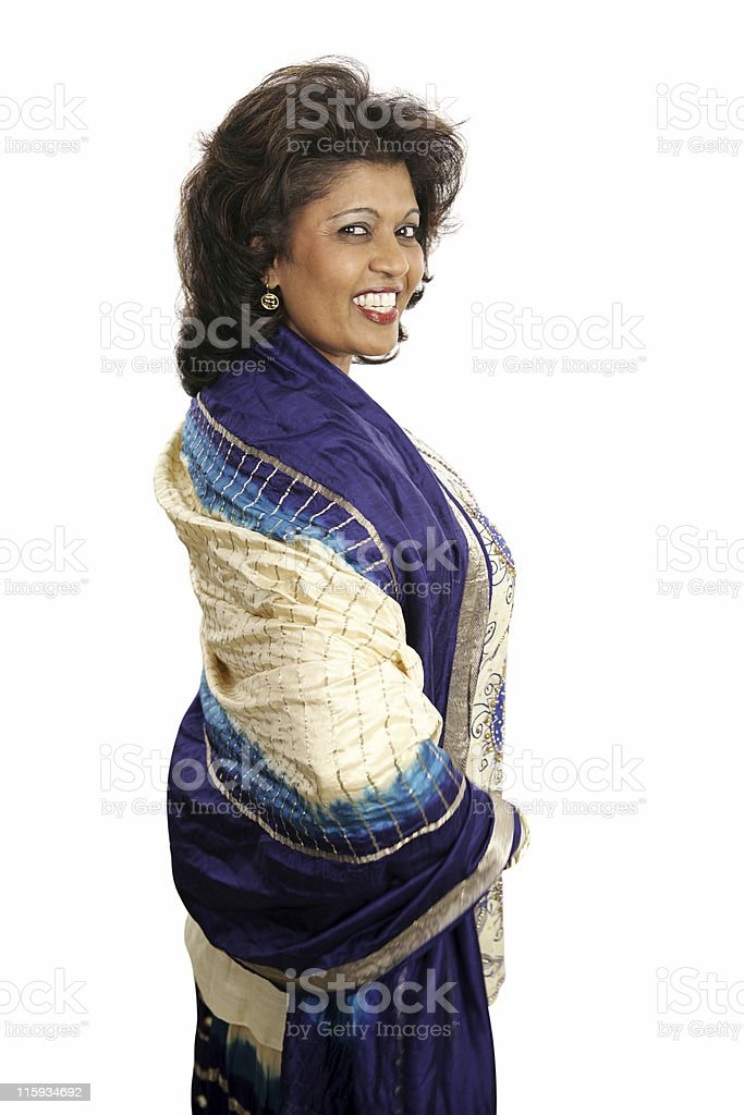 Indian Beauty - Coy royalty-free stock photo