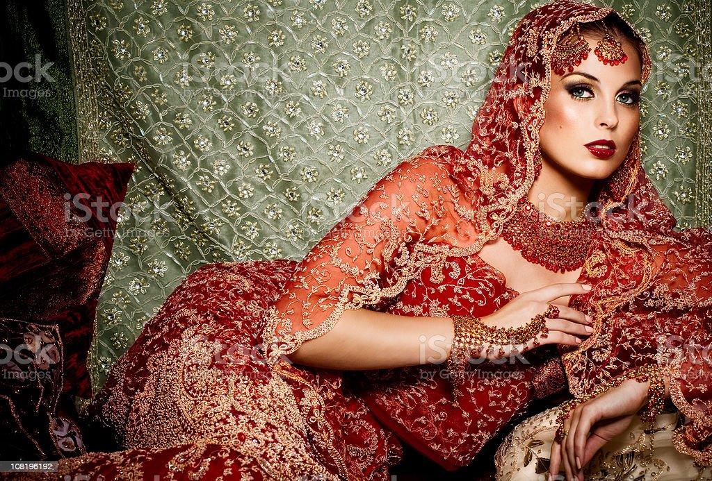 Indian Beauty stock photo