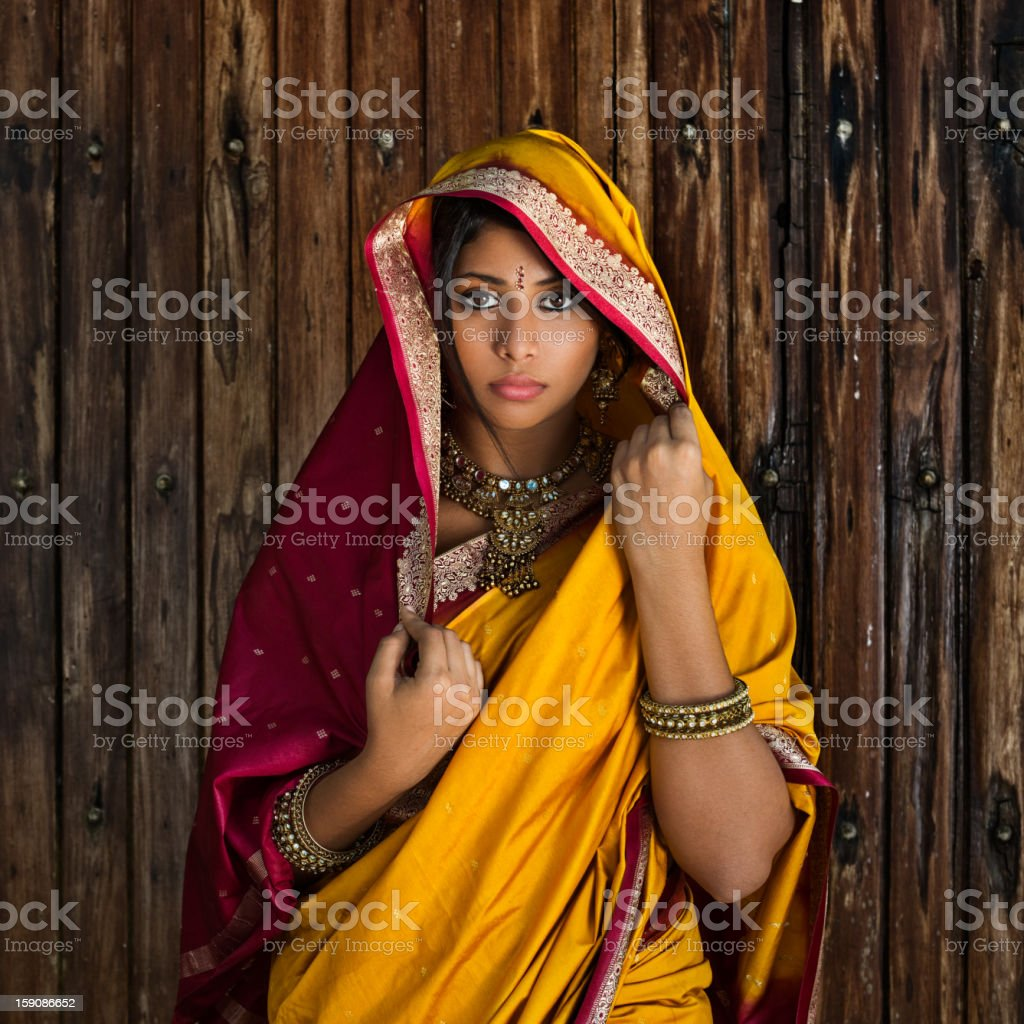 Indian Beauty stock photo
