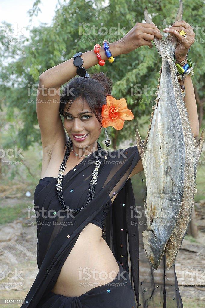 Indian Beauty royalty-free stock photo