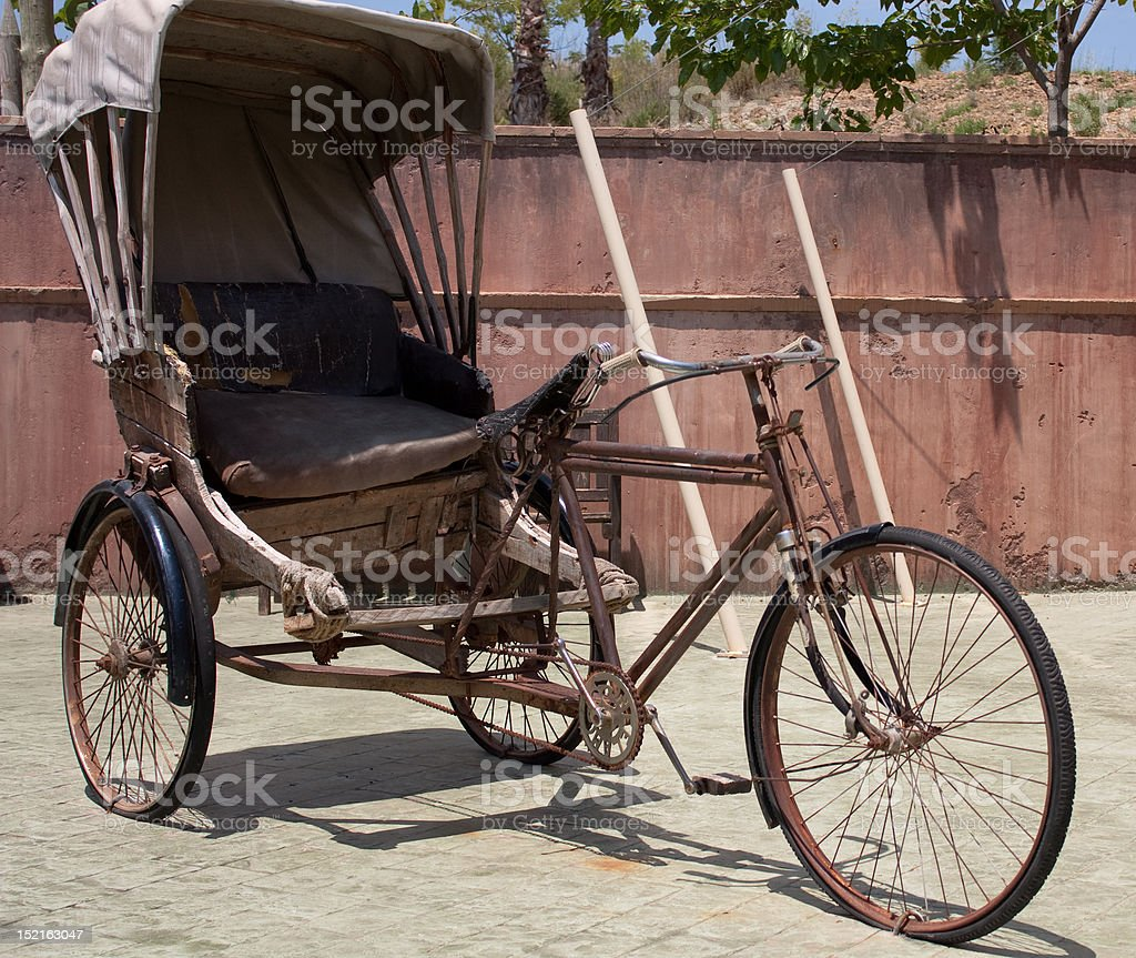 Indian bicycle royalty-free stock photo