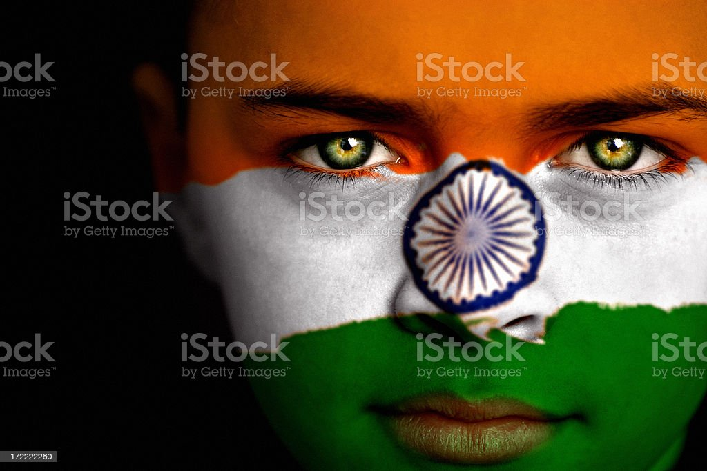 Indian boy stock photo