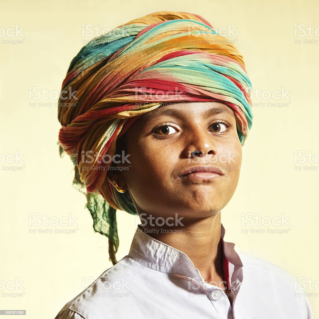 Indian boy royalty-free stock photo