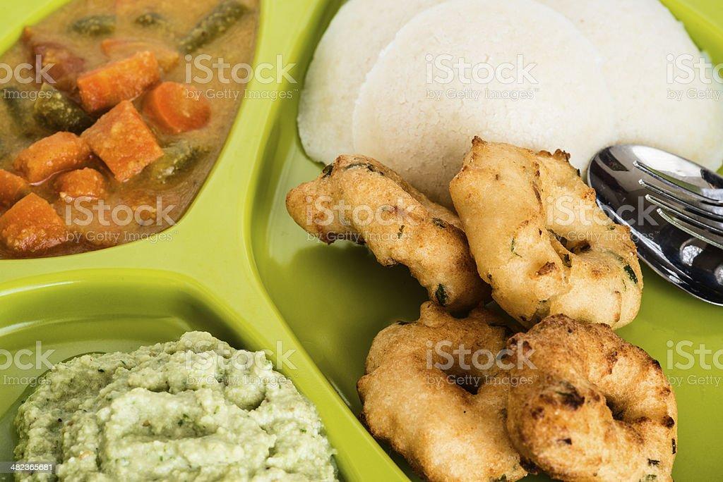 Indian breakfast stock photo