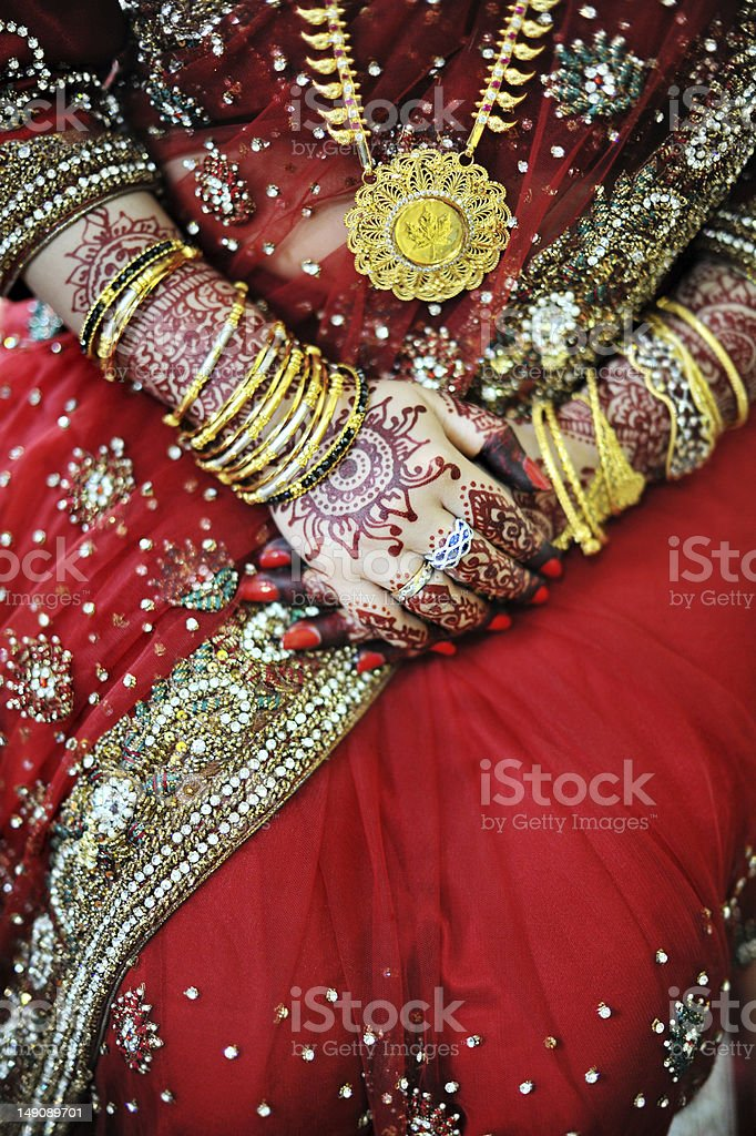 Indian bride royalty-free stock photo