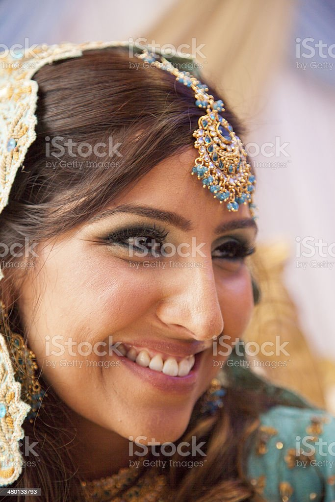 Indian Bride stock photo