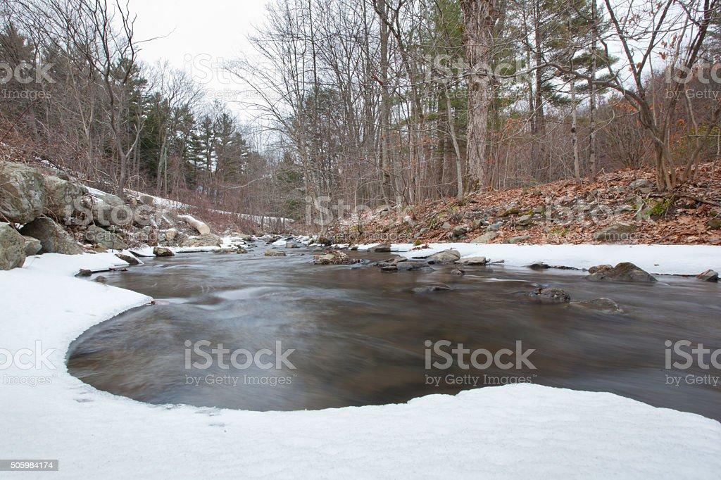 Indian Brook stock photo
