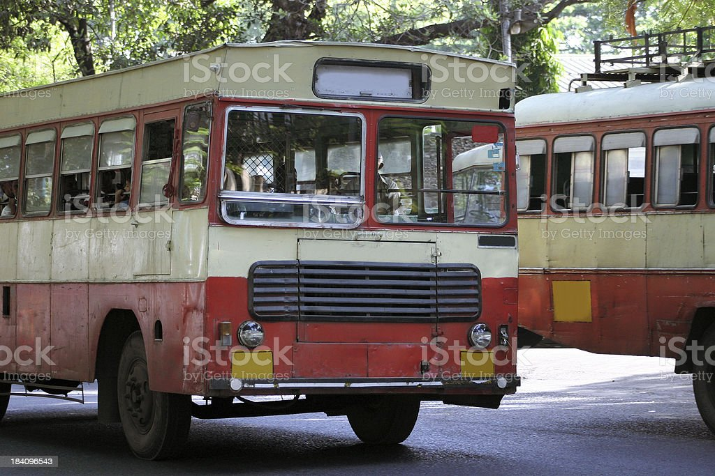 Indian bus royalty-free stock photo