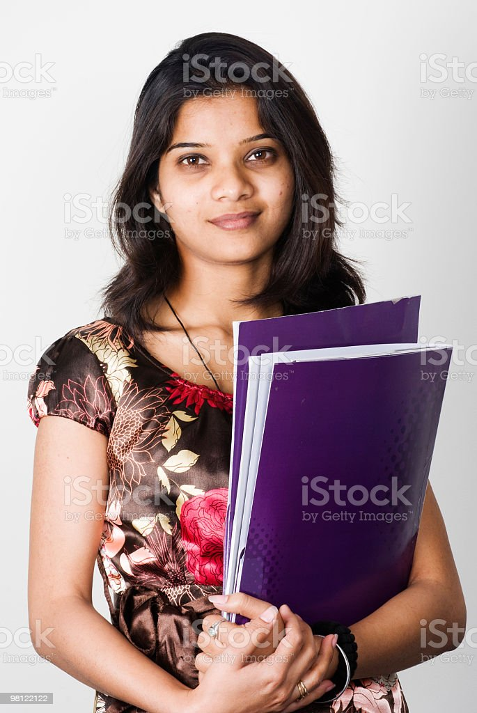 Indian Business Woman royalty-free stock photo