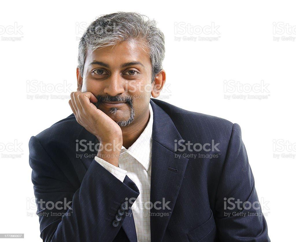 Indian businessman royalty-free stock photo