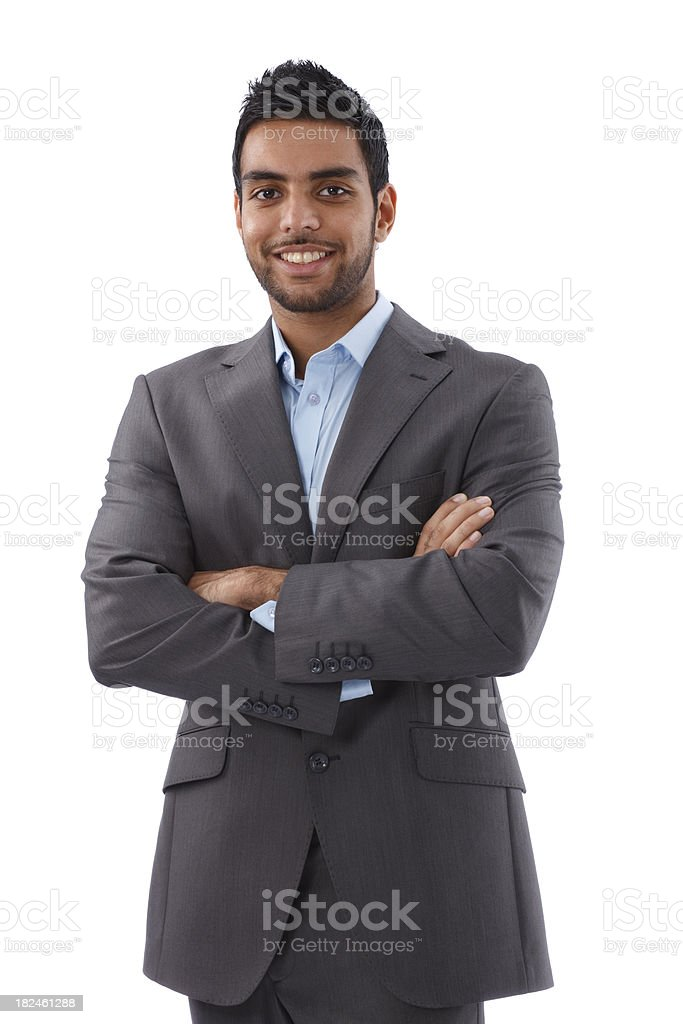 Indian Businessman royalty-free stock photo