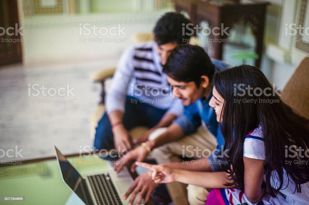 Indian businesspeople stock photo