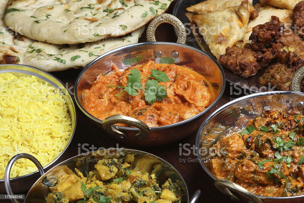 Indian Butter Chicken Curry stock photo
