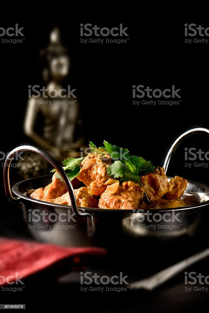 Indian Butter Chicken stock photo