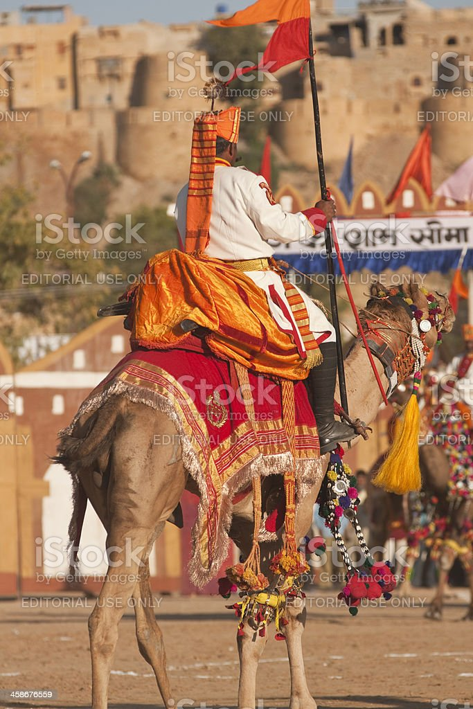Indian Camel Corps stock photo
