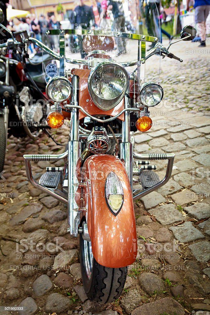Indian Chief Vintage motorcycle royalty-free stock photo