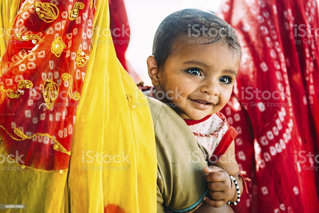 Indian Children stock photo