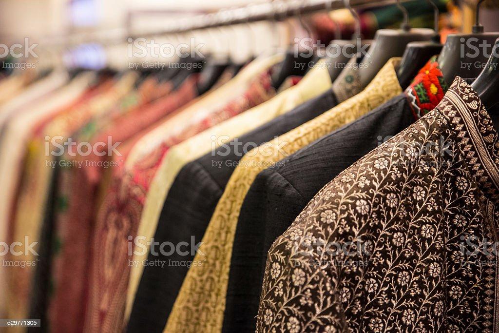Indian Clothing Kurta stock photo