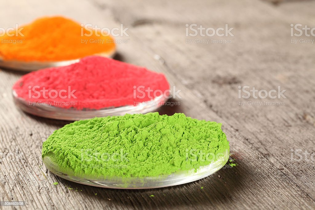 Indian color festival Holi stock photo
