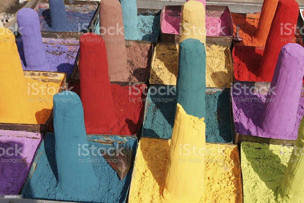 Indian Color royalty-free stock photo