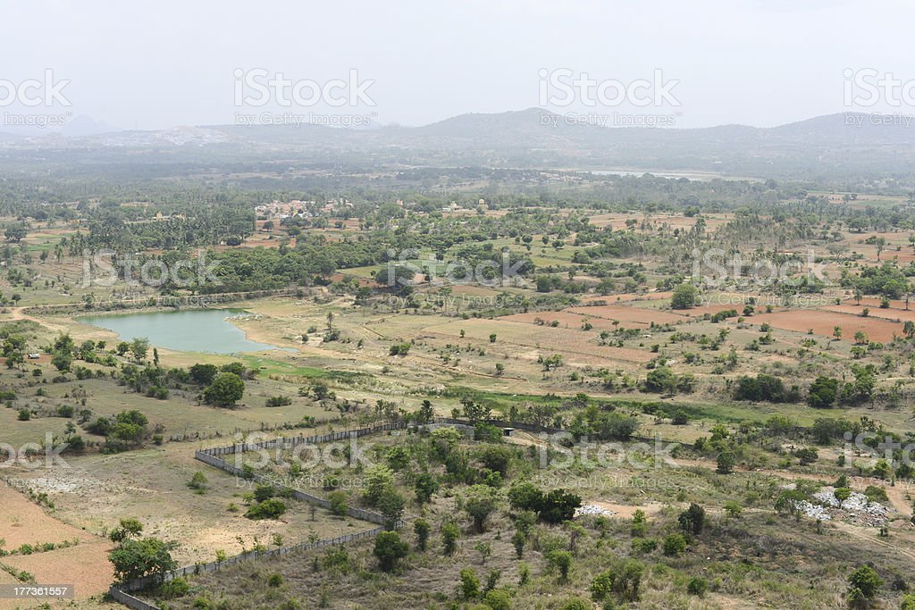 Indian countryside royalty-free stock photo