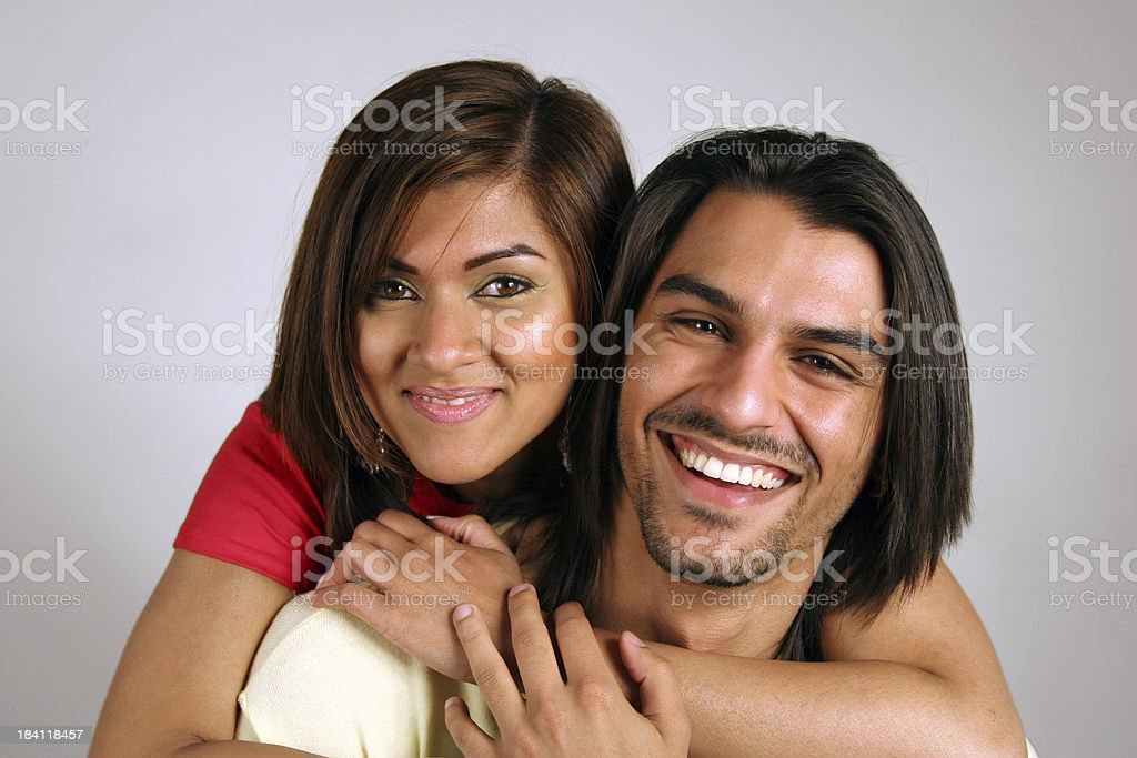 Indian Couple in Love royalty-free stock photo