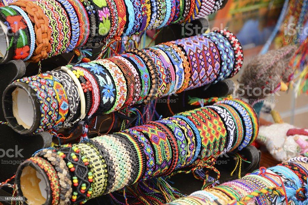 Indian craft stock photo