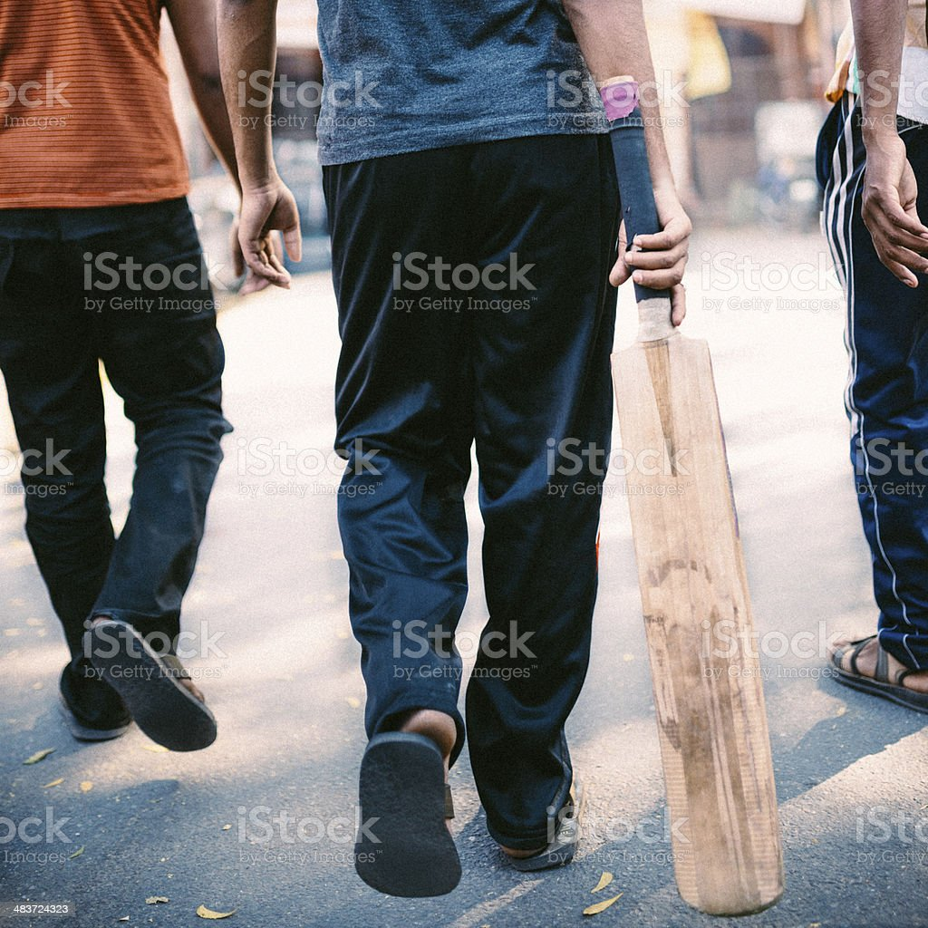 Indian Cricket Players stock photo