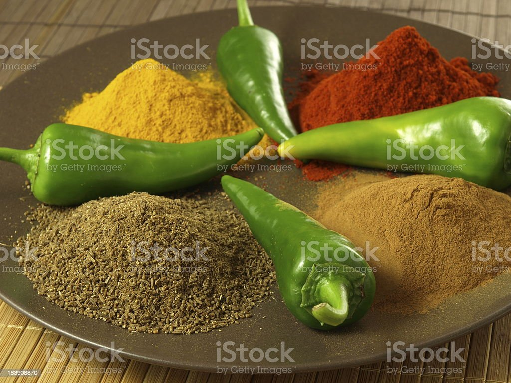 Indian cuisine royalty-free stock photo