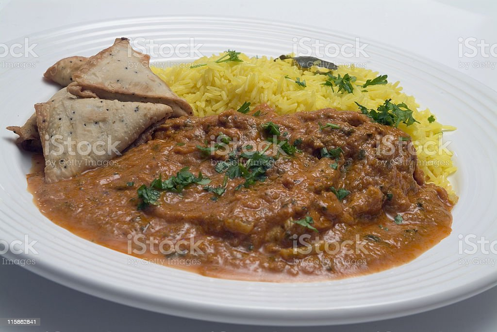 Indian Curry stock photo
