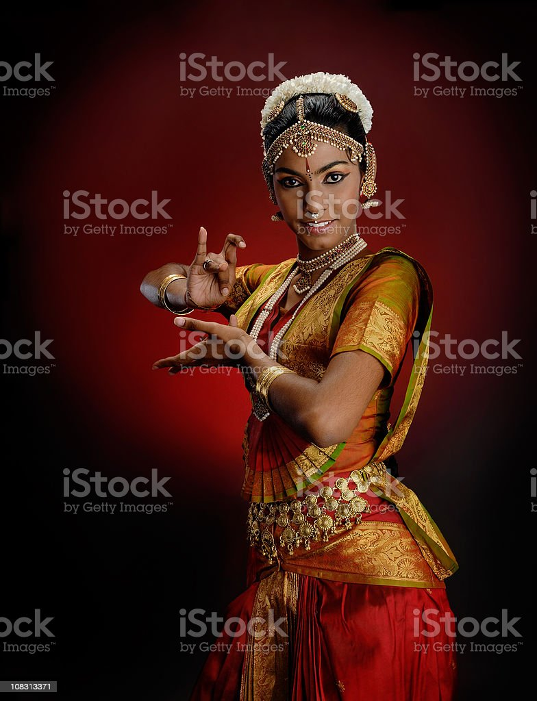 Indian Dancer (14/15) - Female royalty-free stock photo