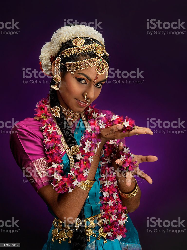 Indian Dancer (11/15) - Female royalty-free stock photo