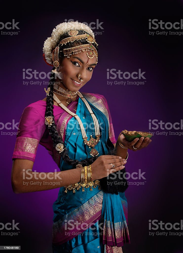 Indian Dancer (12/15) - Female royalty-free stock photo