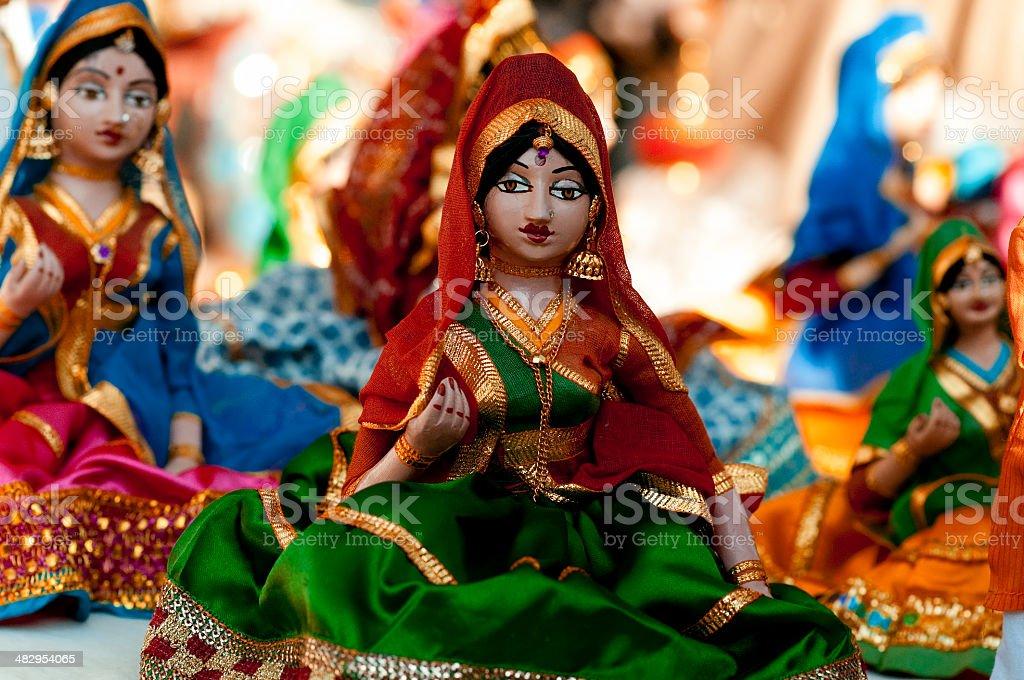 Indian Dolls stock photo