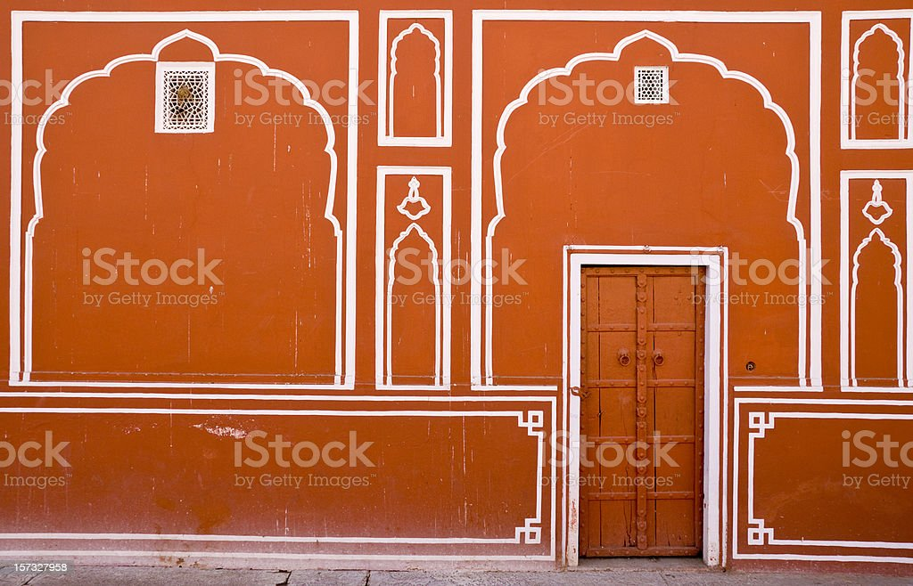 Indian Door royalty-free stock photo