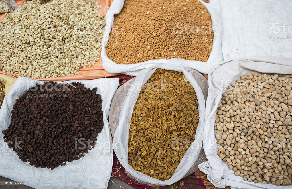 Indian  dried spices royalty-free stock photo