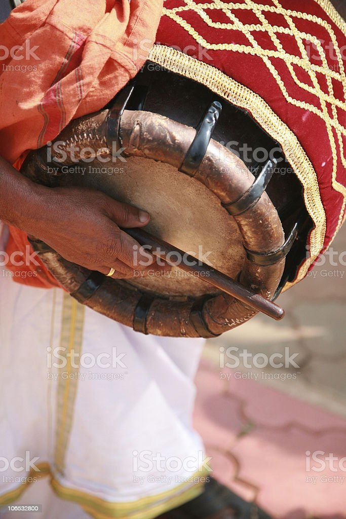 indian drums royalty-free stock photo