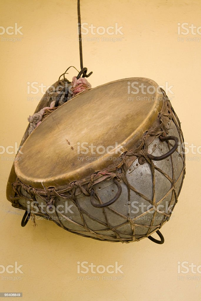 Indian Drums stock photo
