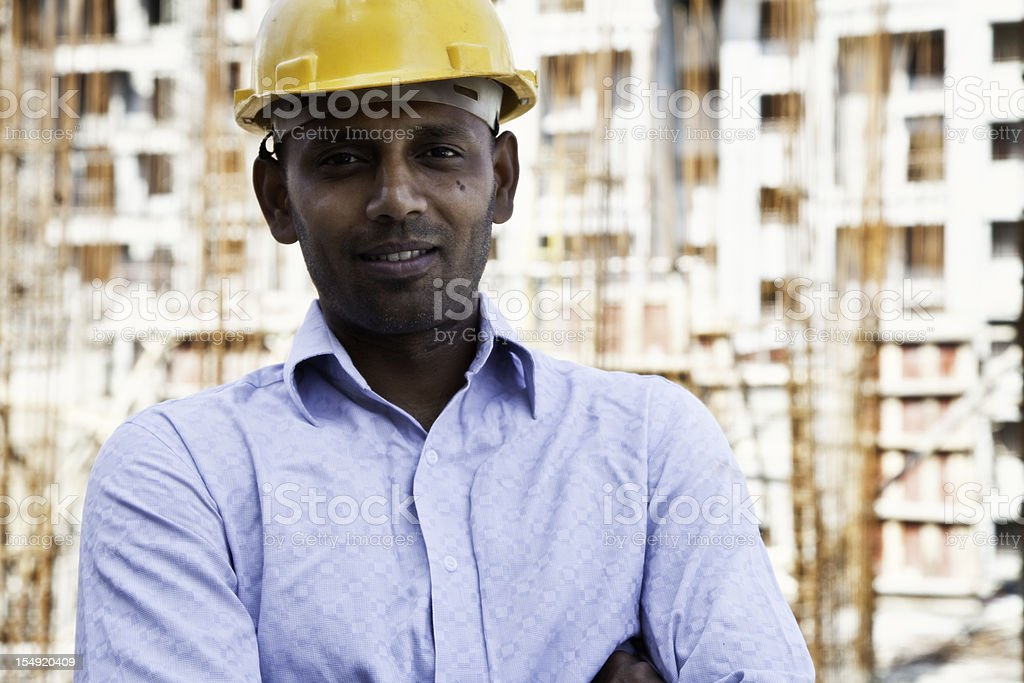 indian engineer royalty-free stock photo