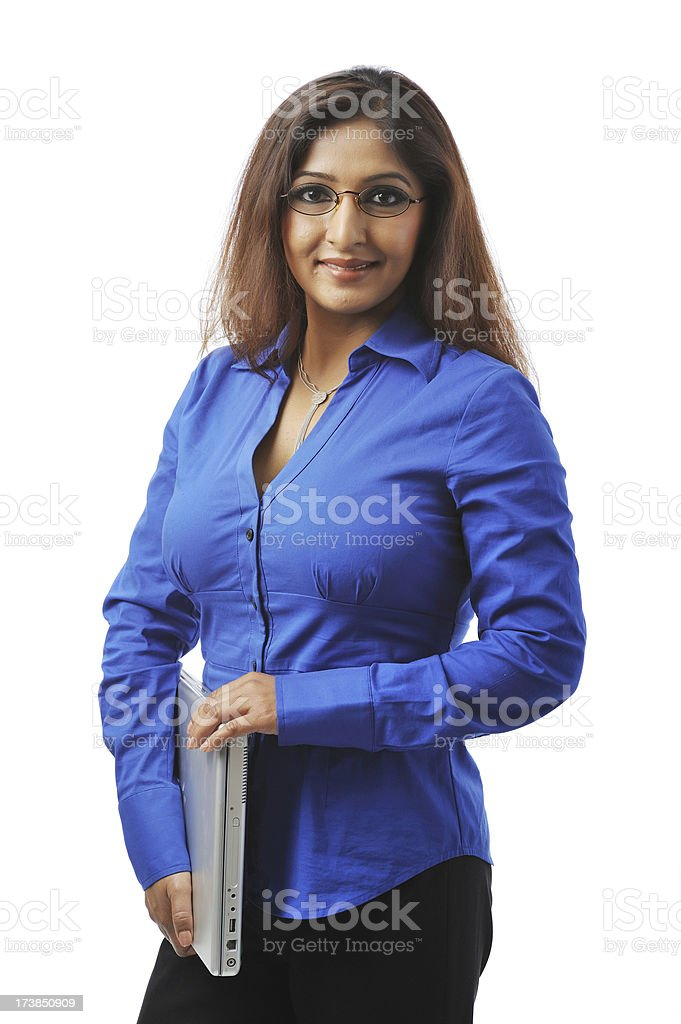 Indian executive royalty-free stock photo