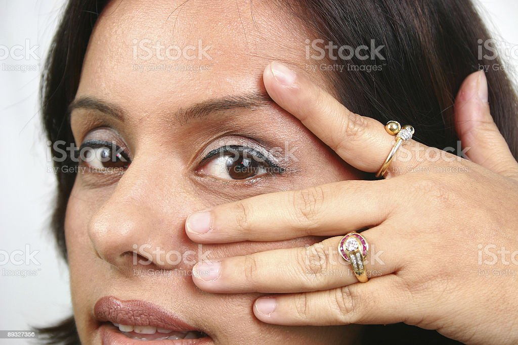 Indian Augen Lizenzfreies stock-foto
