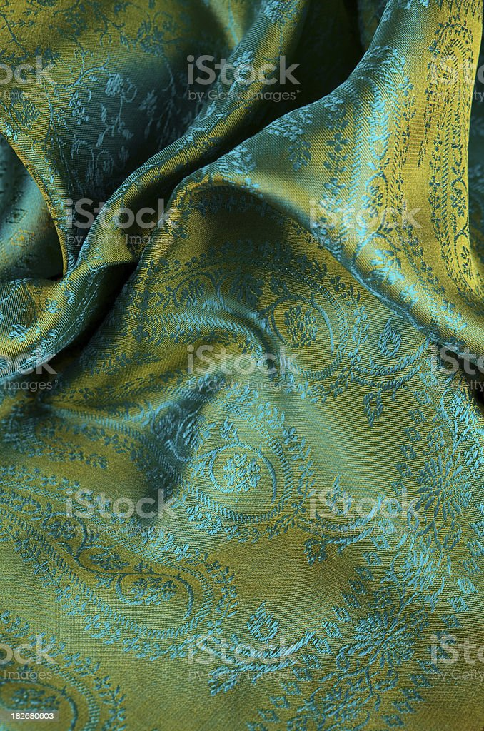 Indian fabric royalty-free stock photo