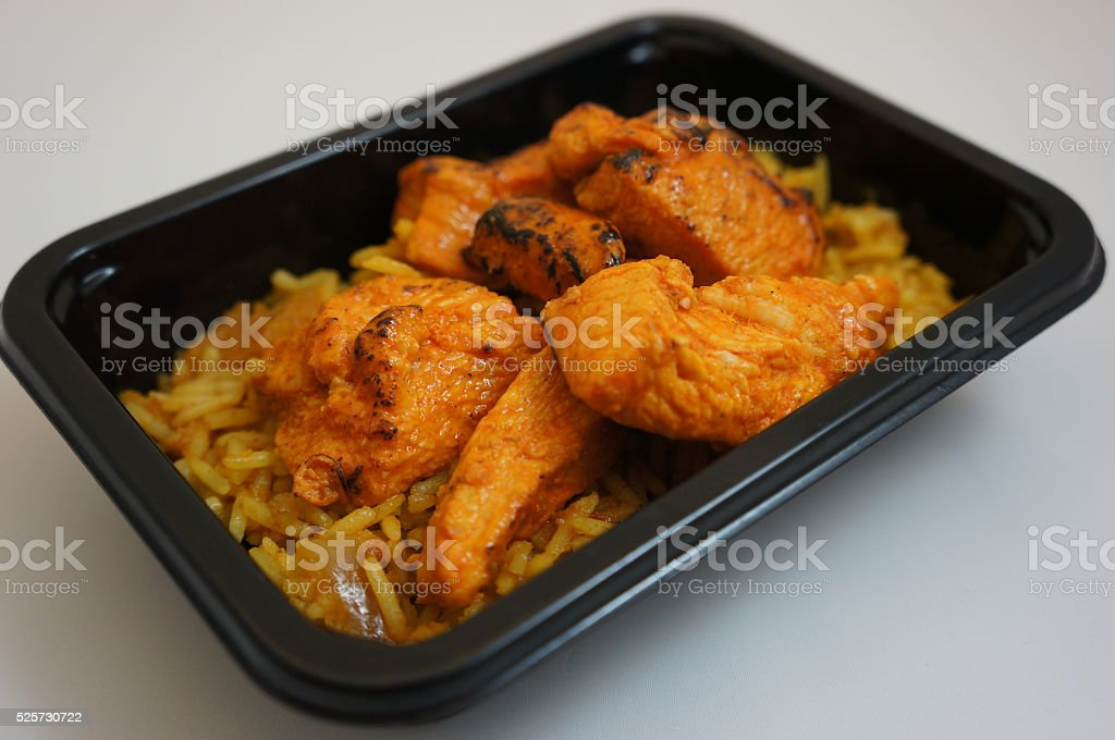 Indian Fast Food stock photo