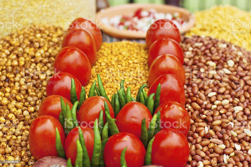 Indian Fastfood royalty-free stock photo