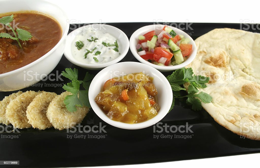 Indian feast royalty-free stock photo
