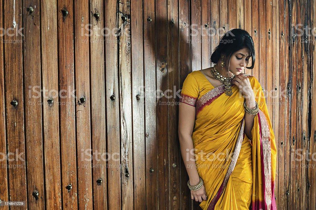 Indian female royalty-free stock photo