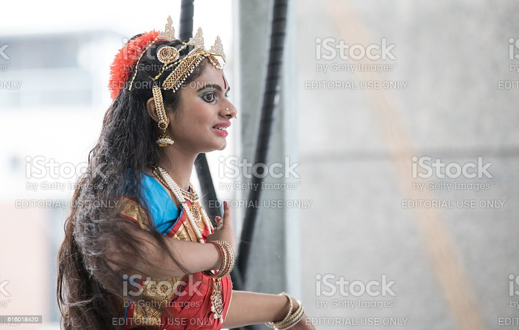 Indian Festival of Lights, New York City, United States stock photo