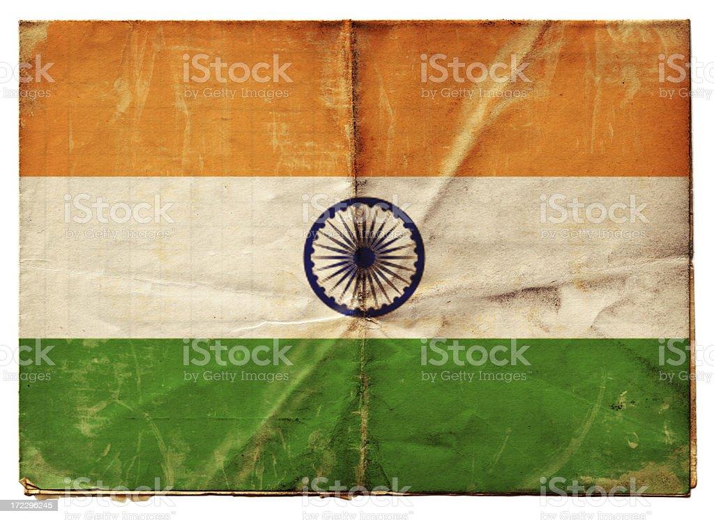 Indian Flag (XXL) royalty-free stock photo