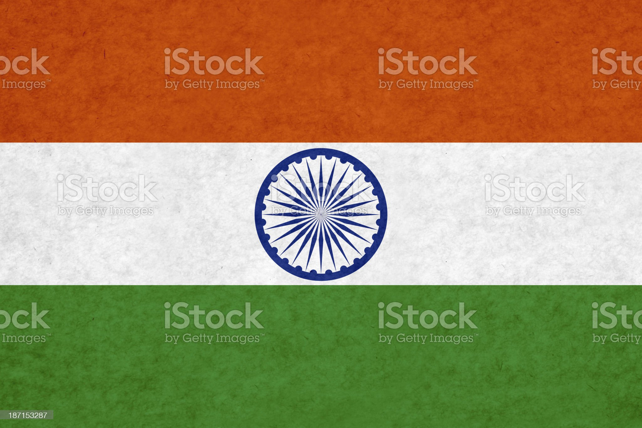 Indian flag royalty-free stock photo